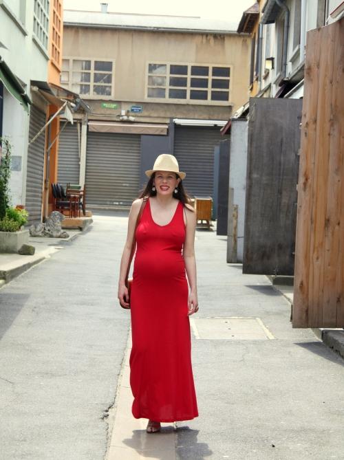 robe rouge 211
