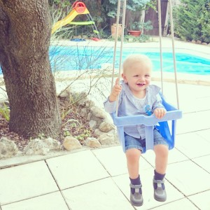 Alistair vient d'avoir 14 mois