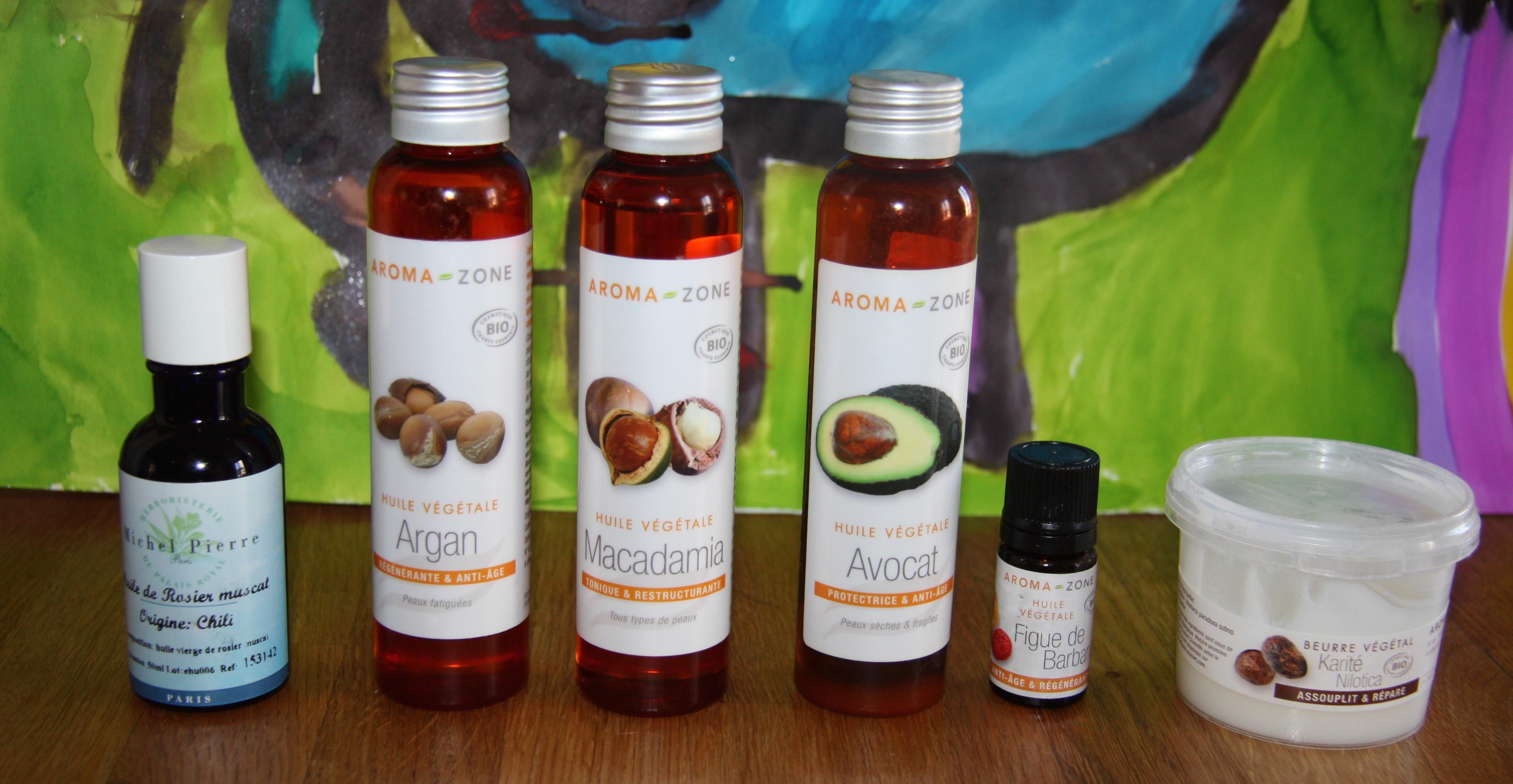 huile vegetale varicelle