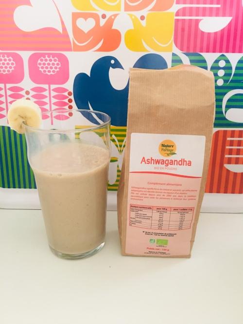 smoothie ashwagandha